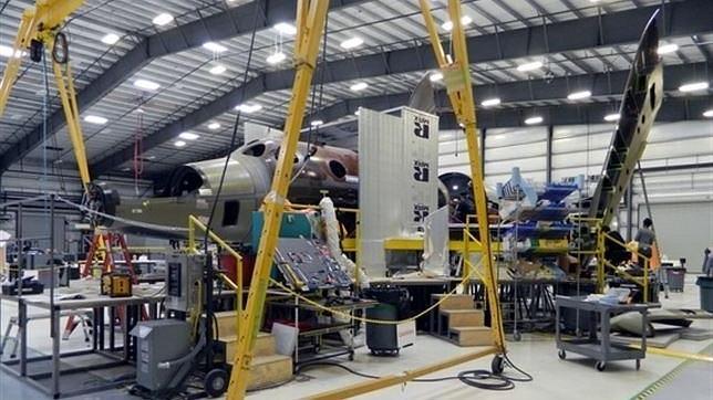 El nuevo avión SpaceShipTwo de Virgin Galactic