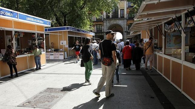 La Feria del LIbro, en la plaza de Zocodover hasta el día 17 de mayo