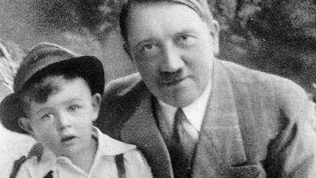 Bartles junto al «Fuhrer»