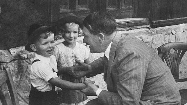 Gerhard Bartels el día que conoció a Hitler