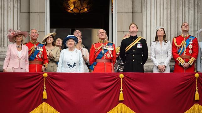 La Familia Real británica al completo, en junio de 2014. La chef Robb trabajó para el Príncipe Carlos y sus hijos durante once años