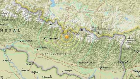 Un terremoto de magnitud 7,3 vuelve a sacudir la zona más castigada de Nepal