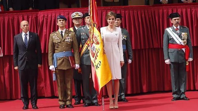La Reina, a la Guardia Civil en el País Vasco: «La sociedad española os valora, os respeta y os quiere»