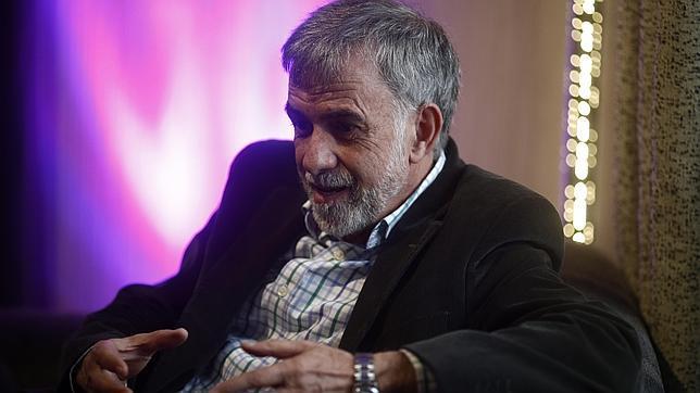 Ignacio Morgado durante la entrevista