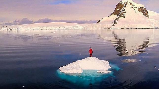 El vídeo más espectacular de la Antártida