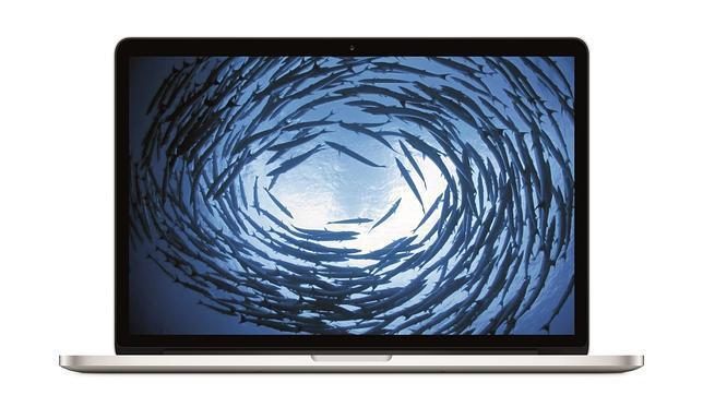 Detalle del nuevo Macbook Pro de 15 pulgadas