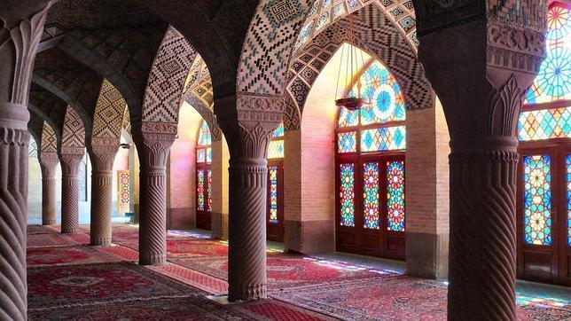 Mezquita de Nasr Ol Molk en Shiraz