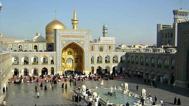 El santuario del Imán Reza en la ciudad de Mashhad