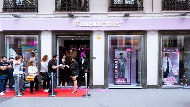 La «boutique efímera» solo estará abierta durante una semana