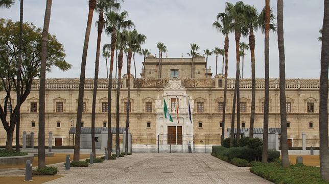 El fantasma del Parlamento de Andalucía Hospital-cinco-llagas--644x362