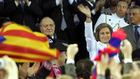 Mestalla 2009, la primera gran pitada