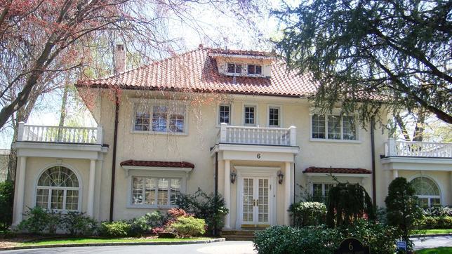 La casa donde vivió Scott Fitzgerald