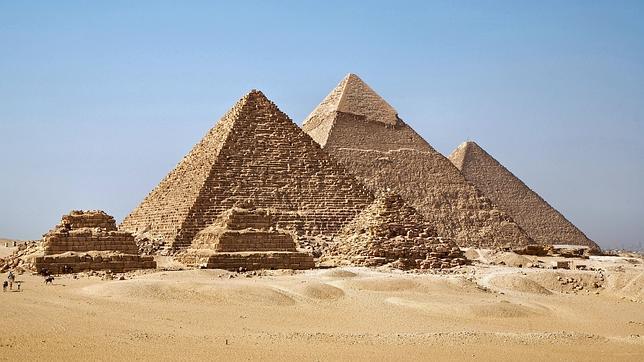 Las pirámides de Guiza (Egipto)