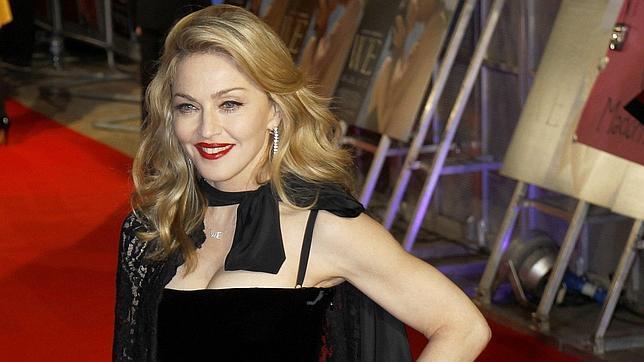 Madonna, en una alfombra roja a principios de año