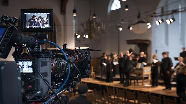 Momento de una de las grabaciones del proyecto que cada viernes se publican en la página web www.allofbach.com