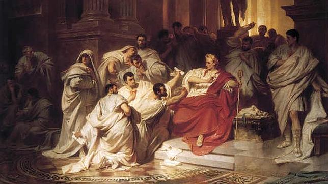 La muerte de Julio César