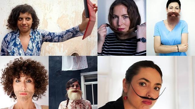 Imagen del proyecto «NO», confeccionada con las aportaciones desde la red de diferentes mujeres