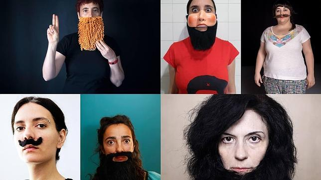 Imagen del proyecto «NO», confeccionada con las aportaciones de diferentes mujeres
