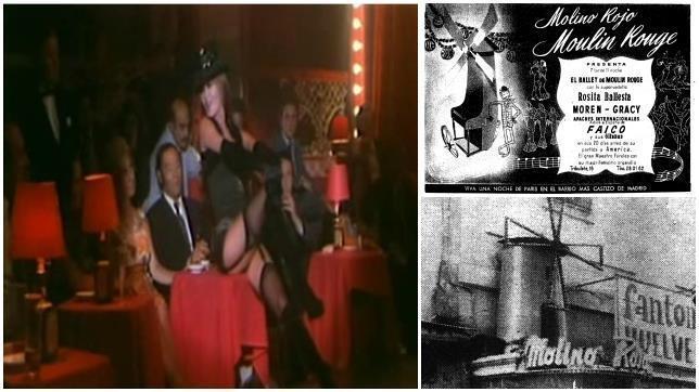 El «Moulin Rouge» de Madrid, el templo erótico que levantó pasiones durante el franquismo