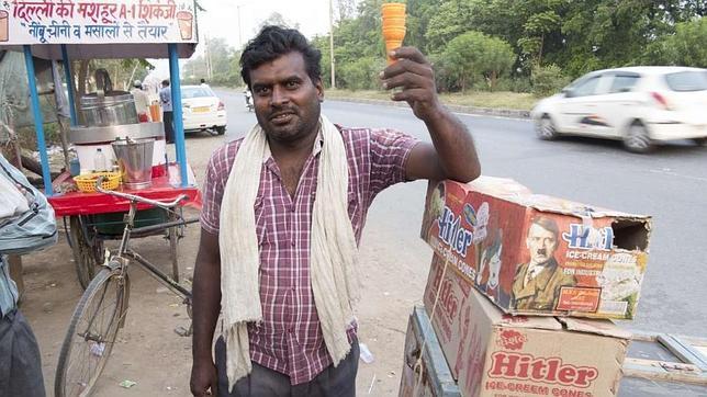 Los helados Adolf Hitler asaltan el mercado indio