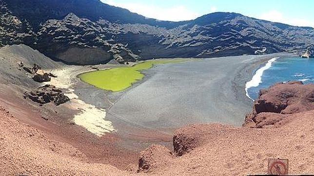 Laguna Verde, en Lanzorote