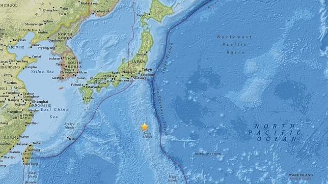 Terremoto de 8,5 grados cerca de Japón