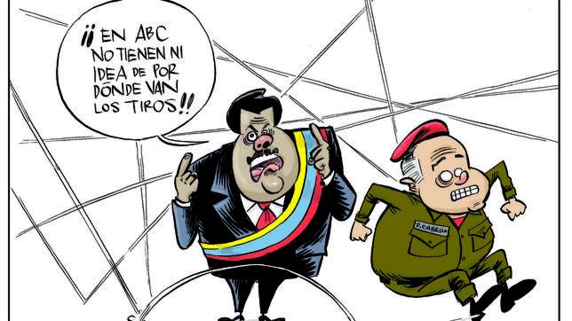 Maduro gana un premio de Periodismo en Argentina al tiempo que Cabello denuncia a ABC