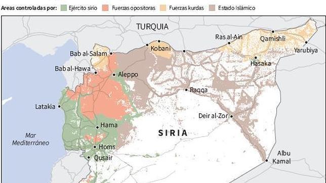 Estado Islámico tiene vía libre hasta la frontera con Turquía
