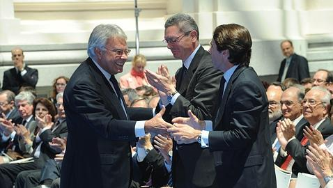 González, Aznar y Gallardón