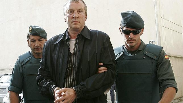 Gennadios Petrov, tras ser detenido en Mallorca en junio de 2008 en la operación Troika