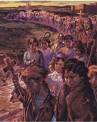 La misteriosa Cruzada de los Niños para conquistar Jerusalén que acabó en tragedia