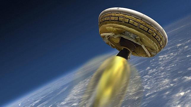 La NASA retrasa a mañana el lanzamiento de prueba de su «platillo volante»