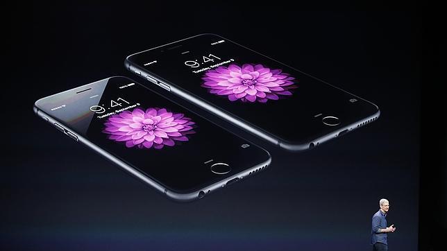 Presentación a cargo de Tim Cook del iPhone 6 y del iPhone 6 Plus