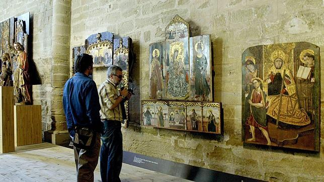Esta valiosa colección de arte aragonés se exhibe en el Museo Diocesano de Lérida, codirigido por la Generalitat