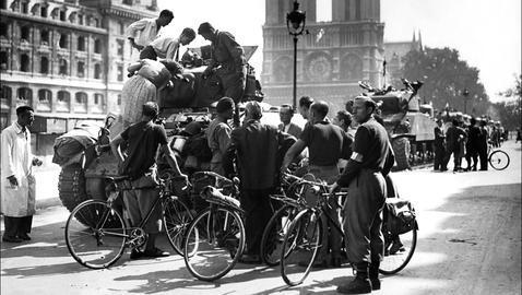 Los republicanos españoles que liberaron Paris de los nazis