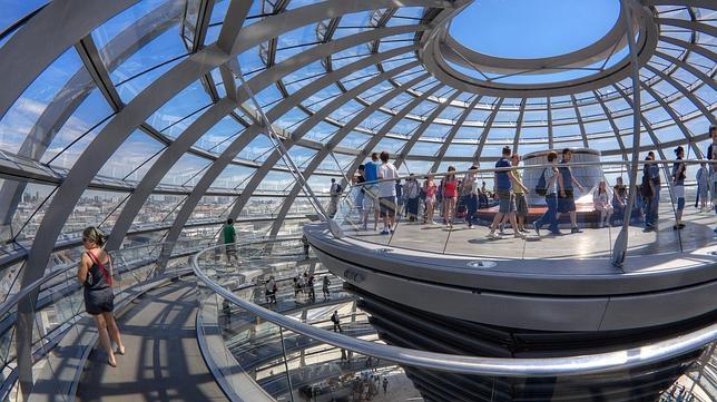 La cúpula del Reichstag fue diseñada por Norman Foster