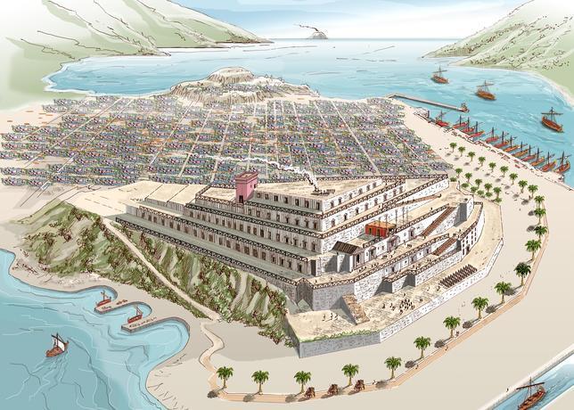 Hallado en Cartagena el palacio de Asdrúbal