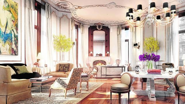 El que fuera el despacho de la Presidencia de Banesto se convertirá en la Royal Suite