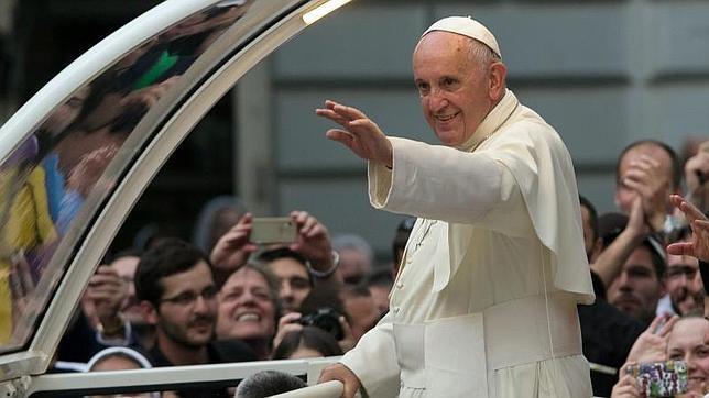 El Papa Francisco en una visita realizada ayer a Sarajevo