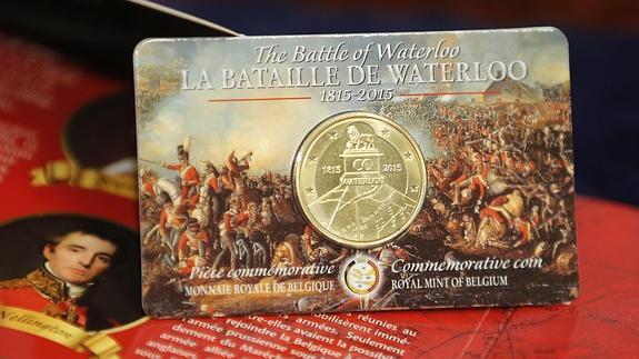 Monedas de 2,5 euros fabricadas en Bélgica