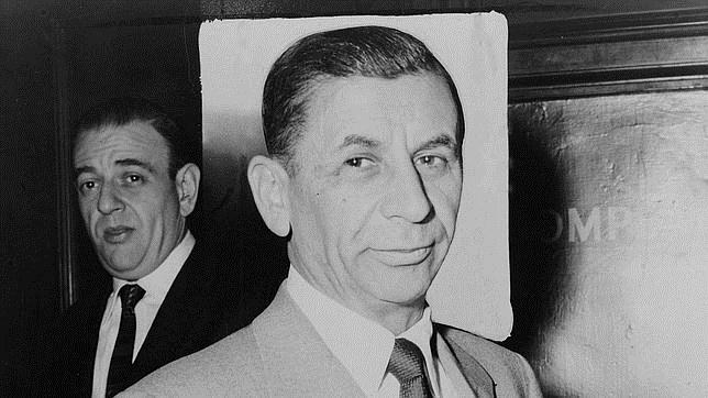 Fotografía de Meyer Lansky en 1958