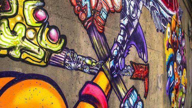 El grafitero que se hizo millonario por pintar la fachada de la oficina de Facebook