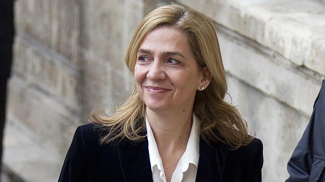 La Infanta Cristina, en una imagen de archivo