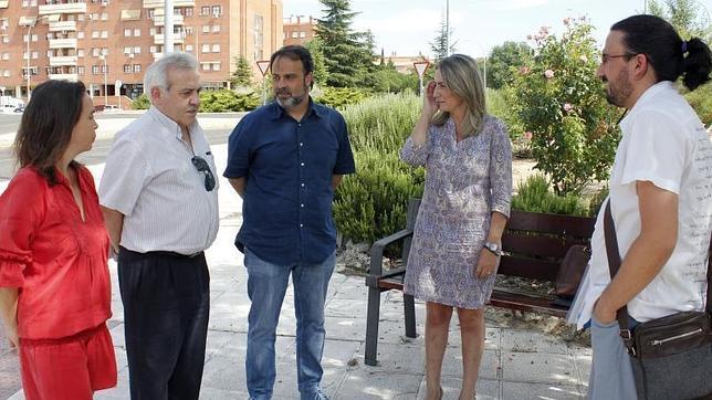 Los representantes del PSOE y de Ganemos han mantenido varias reuiones en los últimos días
