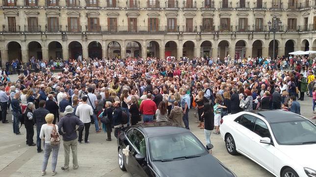 Llegada de Javier Maroto al Ayuntamiento de Vitoria