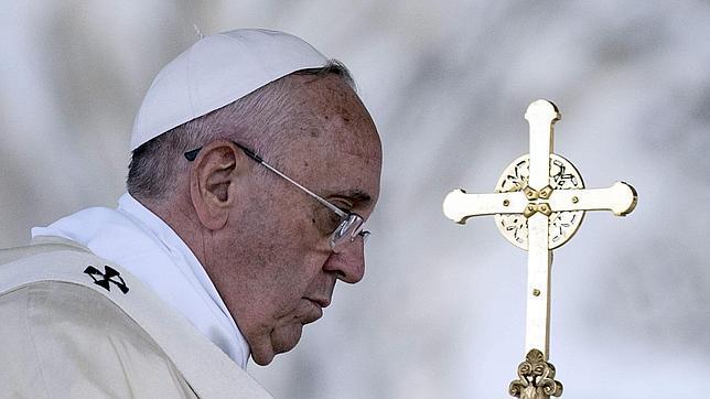 El Papa Francisco durante la celebración de la Misa del Corpus Christi