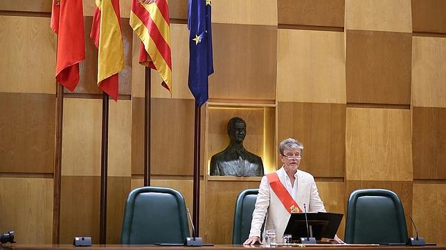 Pedro Santisteve, nuevo alcalde de Zaragoza