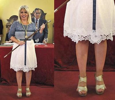 El secreto tras los dedos de los pies de la alcaldesa de Jerez