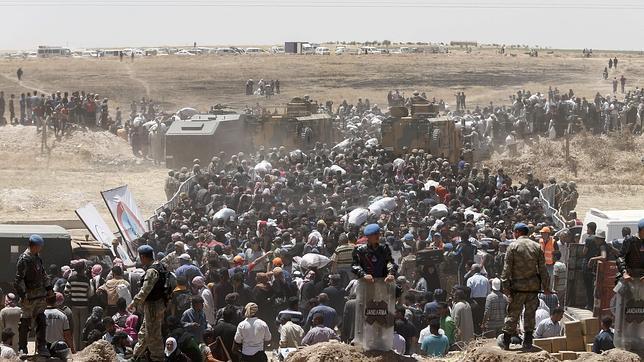 Rebeldes islamistas conquistas tres nuevas zonas en el norte de Siria