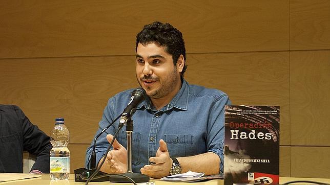 Francisco Sainz Silva, en la presentación de «Operación Hades»